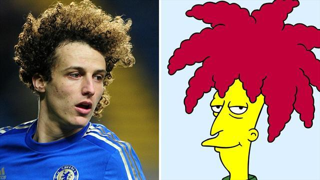 Premier League - Luiz's smirk was response to Sideshow Bob taunts