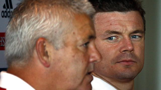 Lions Tour - Gatland used 'head over heart' when dropping O'Driscoll