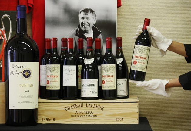 Fergie's wine collection set to fetch £3m at auction