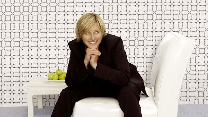 Ellen DeGeneres hosts The Ellen DeGeneres Show.