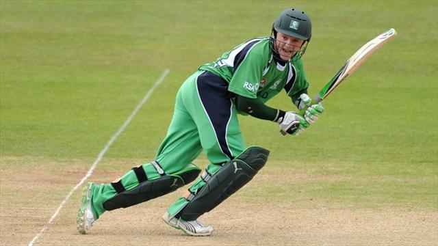 Cricket - O'Briens put Ireland on the brink of World Cup