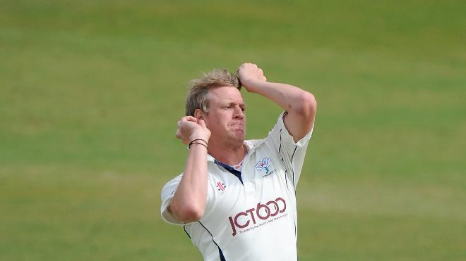 Steven Patterson claimed three early wickets as Yorkshire made a bright start