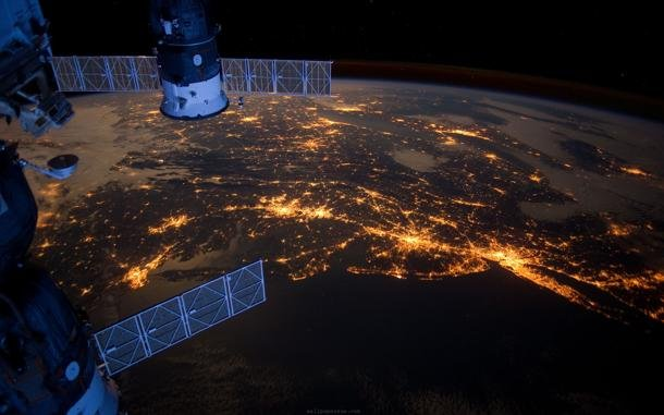 view from space station live - photo #7