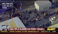 New York Ferry Crash: Up To 50 Injured