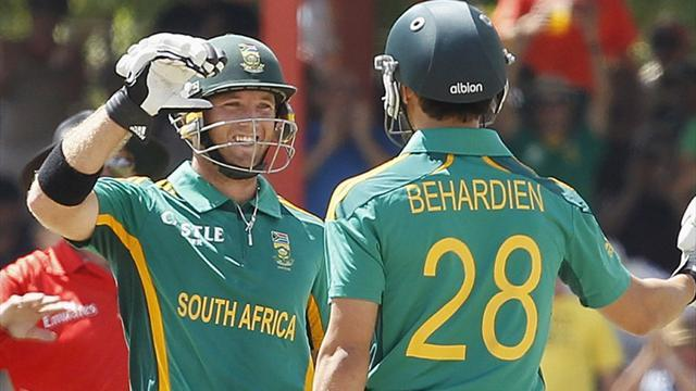 Cricket - South Africa beat Pakistan in first ODI