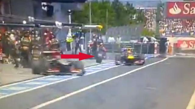 Formula 1 - TV crews banned from pitlane