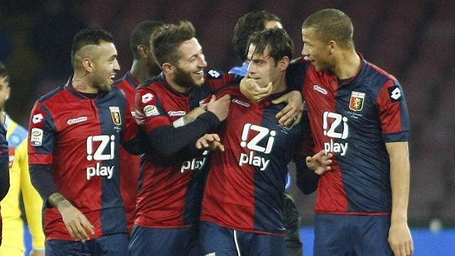 Serie A - Napoli stung by player they loaned to Genoa