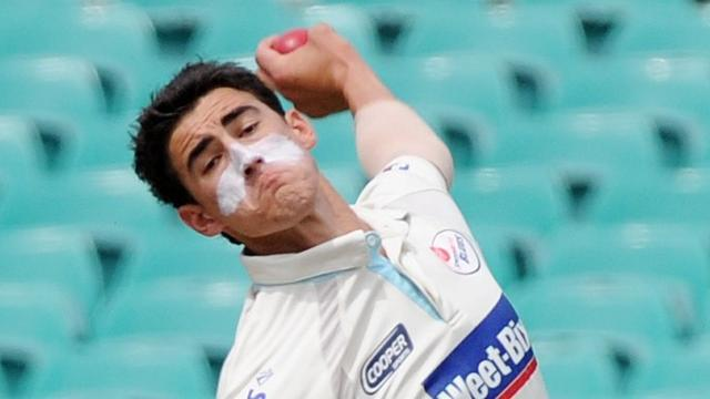 Cricket - Mitchell Starc heading home for ankle op