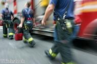 Firefighters lobby MPs over cuts