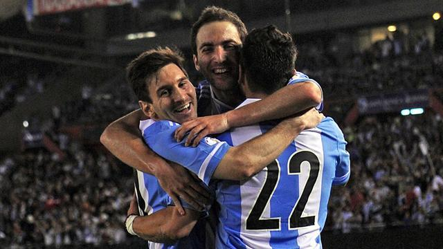 World Cup - Messi magic and Higuain goals keep Argentina in charge