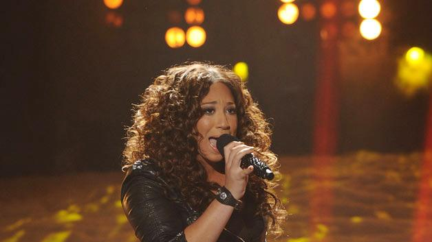 """Melanie Amaro performs """"Earth Song"""" by Michael Jackson on """"The X Factor."""""""