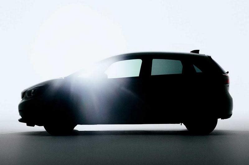 【東京車展】全新世代Honda Fit小露車側,預告東京車展帶電現身