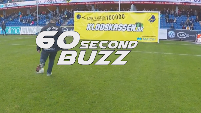 All Sports - 60-Second Buzz: Fan wins £10,000 with most casual trick shot ever