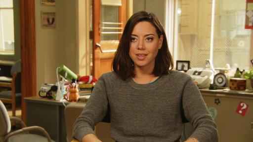Aubrey Plaza's Season 6 Finale Interview