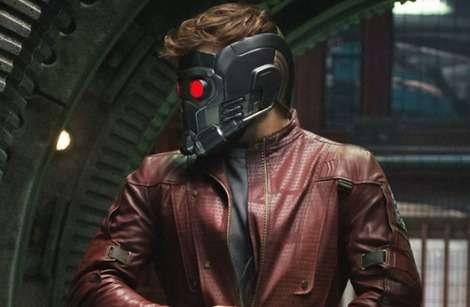 Chris Pratt's Peter Quill in Guardians of the Galaxy's second trailer