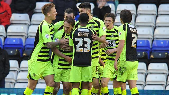 Championship - Yeovil earn point despite three red cards and own goal