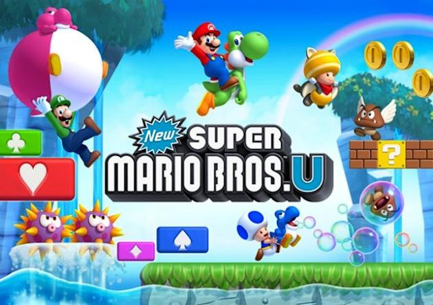 Nintendo Wii U game 'New Super Mario Bros. U'