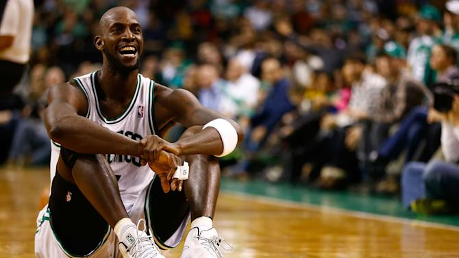 Kevin Garnett shows he'll be perfect on TNT's 'Inside the NBA'
