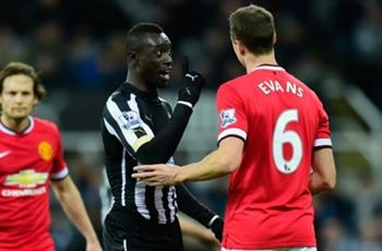 Manchester United's Evans denies FA spitting charge