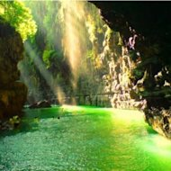 """Cukang Taneuh"" Green Canyon Indonesia"