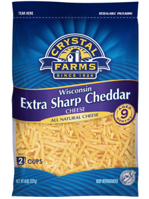 Crystal Farms Extra Sharp Cheese