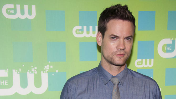 Shane West attends The CW Television Network's Upfront 2012 in New York, Thursday, May 17, 2012. (AP Photo/Charles Sykes)