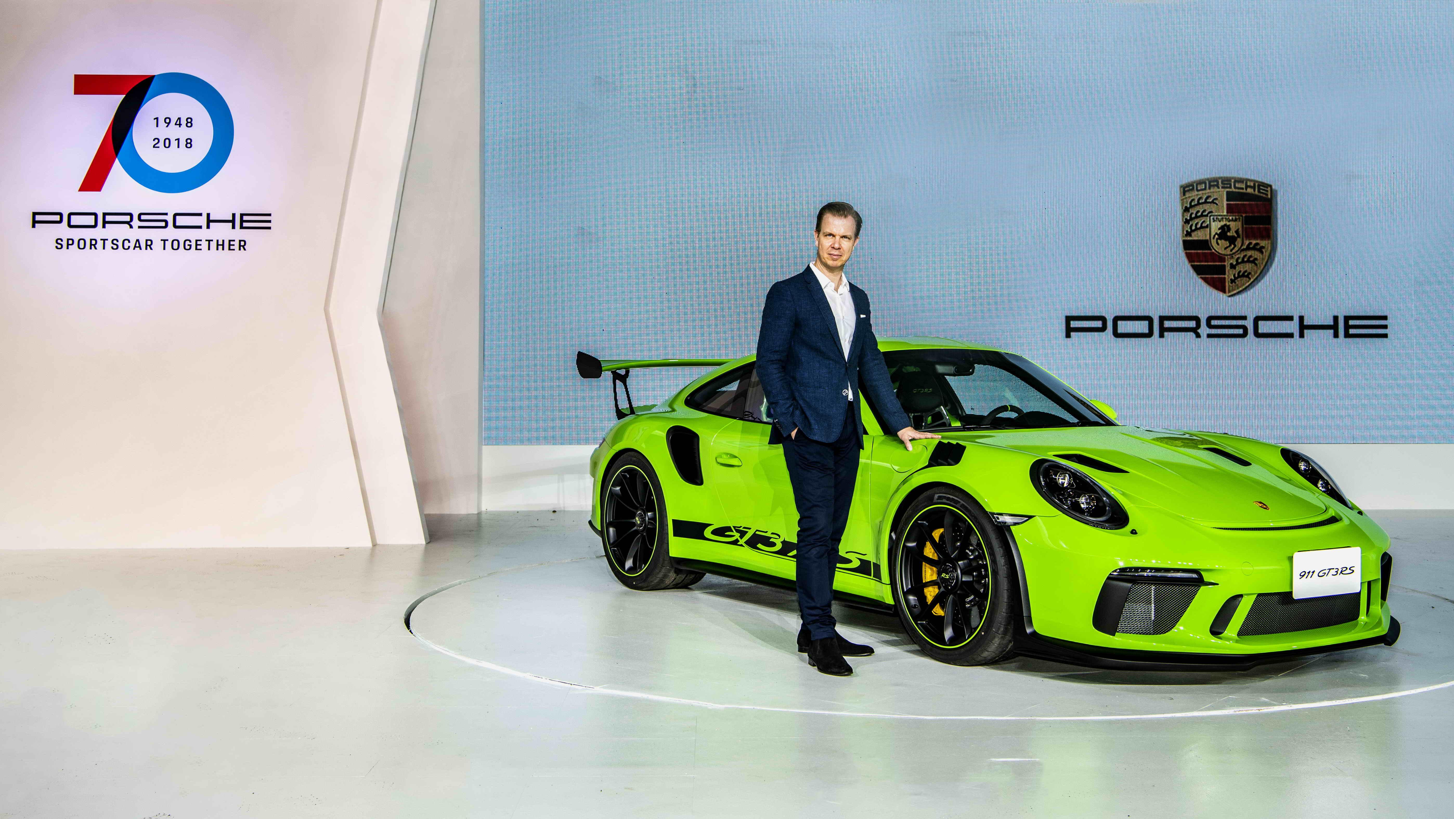 【HD影片】Porsche 70週年品牌活動日|911 GT3 RS同台發表