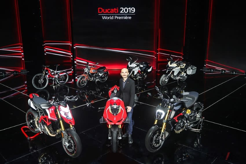 赤紅狂潮來襲! DUCATI 2019年式車款發表