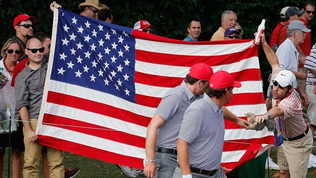Presidents Cup - US stay one ahead at weather-hit Presidents Cup
