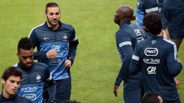 Ligue 1 - Benzema failures diminish France chances