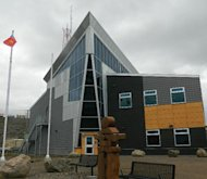 The company that built the new Iqaluit RCMP detachment says it warned the federal government about the risks of building on the swampy land.
