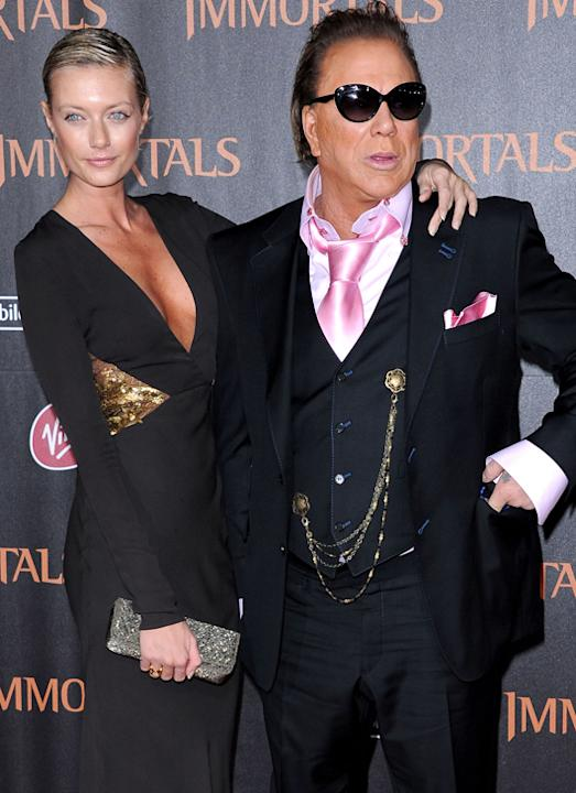 Weird celebrity couples: Mickey Rourke dating 24-year old model Anastassija Makarenko could only happen in Hollywood.