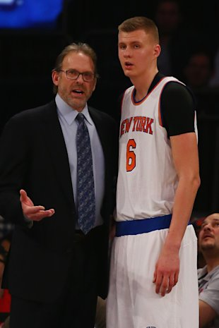 With Kurt Rambis now coaching, but the Knicks looked awful similar on Tuesday. (Al Bello/Getty Images)