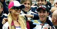 Paris Hilton and Maverick Viñales