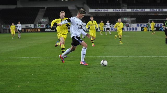 German Bundesliga : Rosenborg kids make winning start against Dortmund