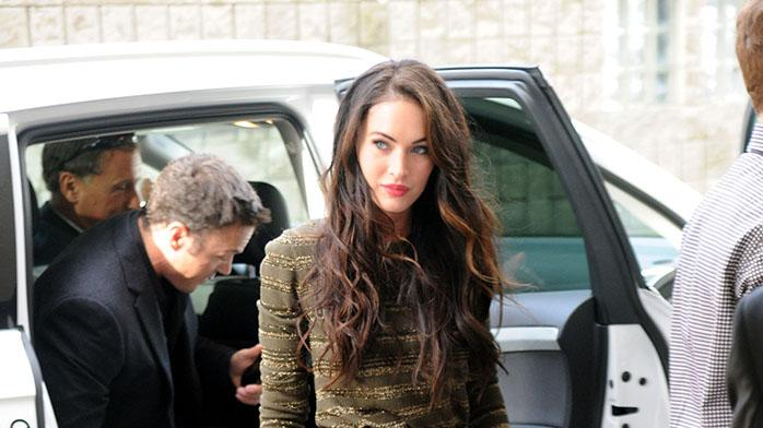 Celebrity Sightings In Toronto - September 10, 2010: Megan Fox