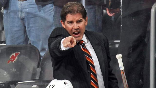 Ice Hockey - Winless Flyers fire coach Laviolette after three games