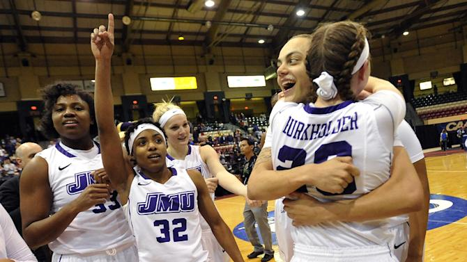 James Madison tops Delaware 70-45 to win CAA