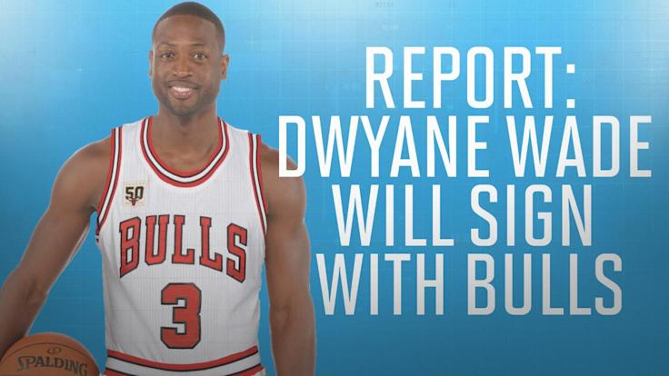 Report: Dwyane Wade will sign with Bulls