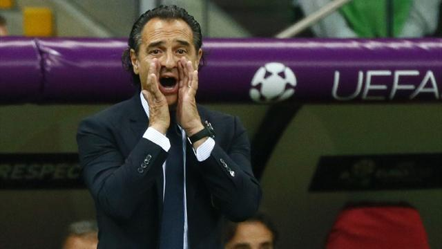 Prandelli: Our midfield can match Spain's