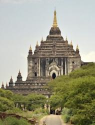 Western tourists are seen visiting the ancient city of Bagan, northern Myanmar, where over 10,000 Buddhist temples, pagodas and monasteries were constructed between the 11th and 13th centuries at the height of the Kingdom of Pagan, the first kingdom to unify the regions that would later constitute modern Myanmar