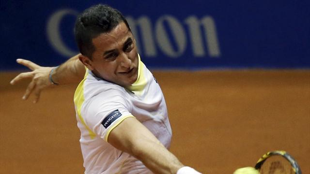 Tennis - Almagro moves through in Argentina