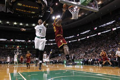 NBA playoffs schedule and results: Celtics look to upset Cavaliers in Game 1