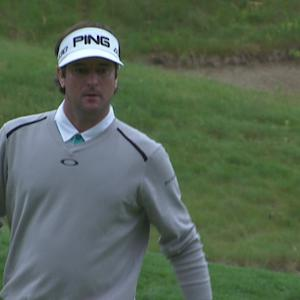 Bubba Watson drains lengthy eagle putt for the Shot of the Day