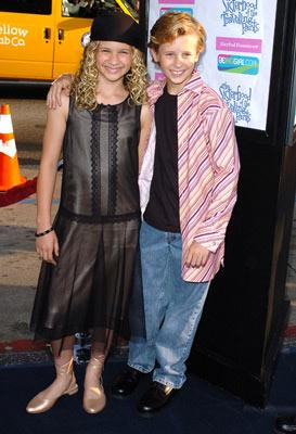 Jenna Boyd and Cayden Boyd at the Hollywood premiere of Warner Bros. Pictures' The Sisterhood of the Traveling Pants