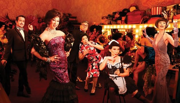 """La Cage aux Folles"", Glen Goei's Singapore remake of the Tony award-winning musical. (W!LD RICE photo)"