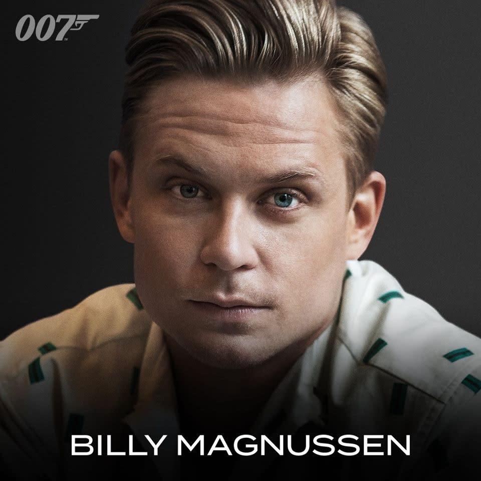 比利馬格努森曾和導演凱瑞福永合作過影集「狂想」,他的片中角色尚未公佈。