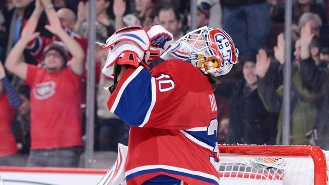 Ice Hockey - Budaj shuts out Carolina in Montreal win