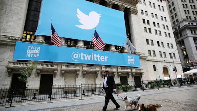 At NYSE, the Big Buzz Is All About Twitter IPO