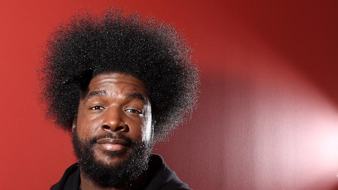 "FILE - This Dec. 8, 2011 file photo shows musician Questlove from the band The Roots in New York. Questlove's memoir, ""Mo' Meta Blues: The World According to Questlove,"" will be published through Grand Central Publishing on June 18. (AP Photo/Carlo Allegri, file)"
